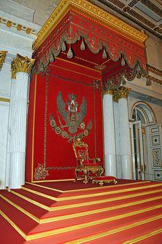Winter Palace Interior Throne Room