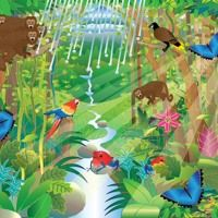 Stream Nature Maestro Rainforest Day Soundscape by dhysom from desktop or your mobile device
