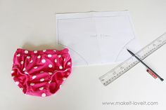 how to make a diaper cover