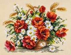 Набор для вышивания Чудесная игла 40-67 Букет полевых
