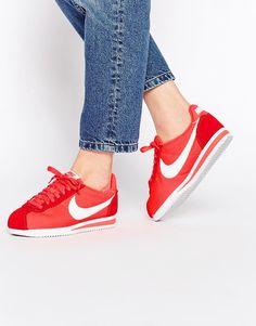 Nike Cortez Femme Jaune Moutarde