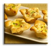 Pepperoni Appetizer Puffs are very easy to make with just three ingredients from your local grocery store. This is a plus for me when it comes to making appetizers for hungry crowds
