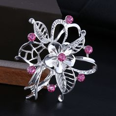 Find More Brooches Information about 50*50mm handmade Red plum flower vintage brooch color rhinestone brooches for women diy Fashion Jewelry breastpin brooch pins,High Quality brooch peacock,China brooch pin hair clip Suppliers, Cheap brooch back from Playful beauty department store on Aliexpress.com