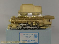 HO NJCB ST-219 Custom Brass NH New Haven 4-6-2 I-4  Value $395.00