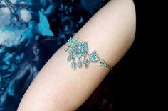 Gypsy Armlet Prom Arm Band Gypsy Armet Arm Jewelry by JustStylish, $40.00
