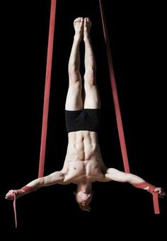 We were unaware of the limited amount of male aerial artists in the industry in comparison to women. As our aerial artist is male. Images like this were hard to find but all useful in trying to figure out how the male artists performance styles differentiate from how the female artists perform.