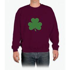 Irish Shamrock Saint Patrick's Day Crewneck Sweatshirt