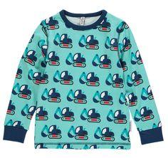 Langarm-Shirt BAGGER in blau