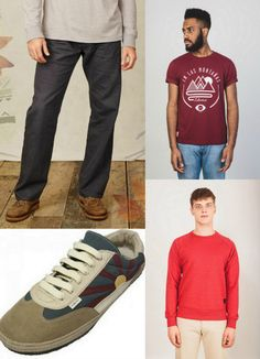 Budget friendly ethical menswear picks for autumn - all under £65.