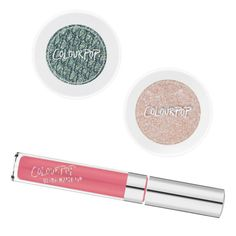 Affordable Beauty: Colourpop What it's known for: Highly pigmented eye shadows, blushes and highlighters rendered in head-turning hues, and matte liquid lipsticks in every shade you can imagine. Eyeshadow in Krinkle, ColourPop $5 Highlighter in Spoon, ColourPop $8 Ultra Matte Lips in 1st Base, ColourPop $6