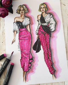 2,085 отметок «Нравится», 33 комментариев — Sveta Leyfman fashion artist (@svetaleyfman) в Instagram: «My lovely polka dot 💕😘 ............................................................................…»