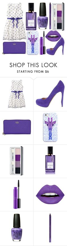 """Sans titre #6033"" by crazymoustik ❤ liked on Polyvore featuring Nicholas Kirkwood, Kate Spade, Casetify, Clinique, Diana Vreeland, MAC Cosmetics, LunatiCK Cosmetic Labs and NYX"