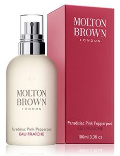 """One of my favorite fragrances! I have a sample body wash and it's divine. This is the eau de toilette: """"Paradisiac Pink Pepperpod Molton Brown for women"""" -AO"""