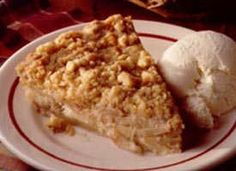 Impossibly Easy French Apple Pie Recipe - (bettycrocker)