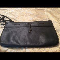 Vintage Etienne Aigner Leather Purse Black Leather Etienne Aigner purse. Good condition. Etienne Aigner Bags Clutches & Wristlets