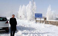 VAN ÇALDIRAN - Çaldıran eksi 25 derece ile dondu
