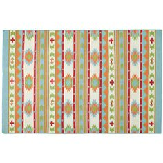 Aztec support rug from Land of Nod, a site for kid's stuff, but they still have some cute decor