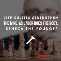 What #difficulties have you faced or face that #challenge you to #grow and increase #resilience? #stoic #stoicism #seneca #quotes #philosophy #mindset #mentalstrength