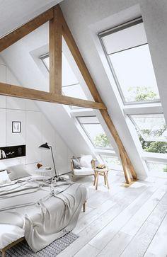 269 meilleures images du tableau Une chambre dans les combles en ...