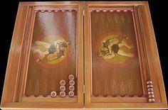 Backgammon for amateur wrestling