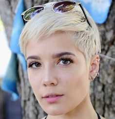 haircuts for 2015 singer halsey won t be defined by hair shaves it all 9781 | 7a6da86972eb9781fbea709a18df2652 hair inspo pixie cuts