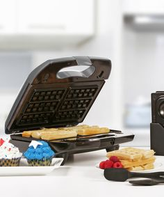 This Silver 3-in-1 Multi Maker by Holstein Housewares is perfect! #zulilyfinds