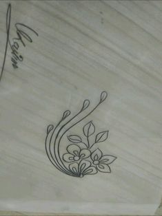 # - Embroidery and Stitching - Indian Embroidery Designs, Hand Embroidery Patterns Flowers, Embroidery Works, Hand Embroidery Stitches, Feather Drawing, Quilting Designs, Pencil Design, Namaste, Craft