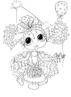 Find Digi Stamp Birthday Girl Bestie Sherri Baldy in the Artist Sherri Baldy category on Scrapbook Stamp Society Coloring Pages For Girls, Colouring Pics, Animal Coloring Pages, Coloring Book Pages, Printable Coloring Pages, Coloring Stuff, Free Coloring, Besties, Creation Art