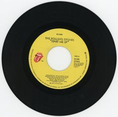 """Rolling Stones, """"Start me up"""" 45, 1981"""