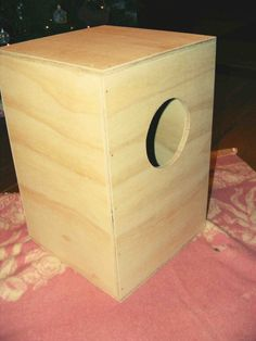 How to Make Your Own Cajón (box drum)