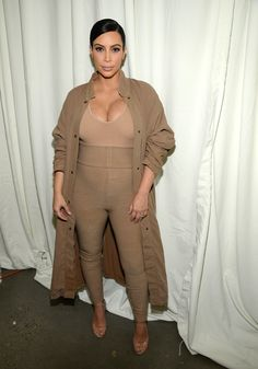 Kim Kardashian à la Fashion Week de New York