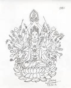 Kuan Yin Coloring Pages - Bing images