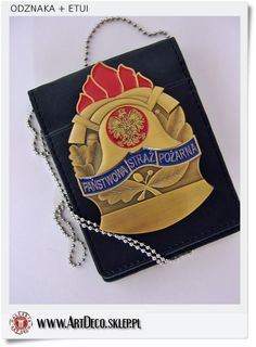 Odznaki państwowej i ochotniczej straży pożarnej