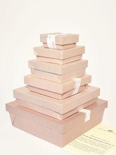 I nostri contenitori alimentari in cartone di tutte le dimensioni