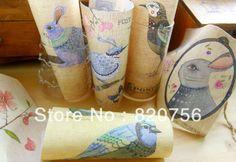 COCO DIY Fabric! 9x15cm pretty 11 partterns bird pig rabbit horse house cotton linen fabric - DIY Zakka fabric Free Shipping US $29.70