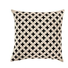 Swiss Cross Pillow ($75) ❤ liked on Polyvore featuring home, home decor, throw pillows, cross home decor and cross throw pillow