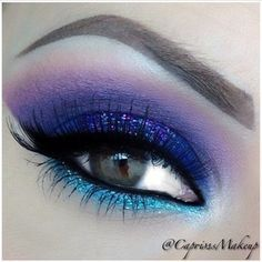 Glamour look #eyemakeup #shimmery