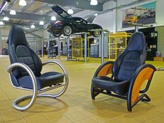 Furniture Design made from Automotive Parts by David Clark