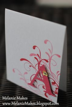 Monogrammed Note Cards - End of the Year Teacher Gift by MelanieMakes - Cards and Paper Crafts at Splitcoaststampers
