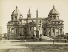 Facade, Santa Maria Maggiore, Rome n.d.
