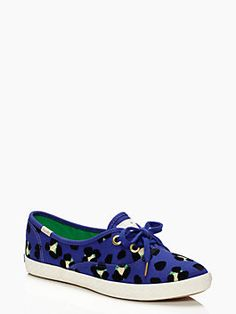 find an excuse to wear sneakers every day of the week. the keds for kate spade new york pointer sneaker in cyber cheetah. (august 2014)
