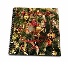 Florene  Holiday II  Print of Merry Christmas For Son And Daughter In Law  Memory Book 12 x 12 inch db_220992_2 -- Check this awesome product by going to the link at the image.