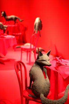 sandy skoglund at the Denver Art Museum