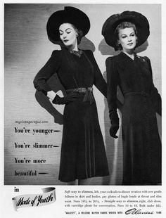 Mode of Youth / Celanese Rayon 1940