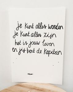 Top Tutorial and Ideas The Words, Cool Words, Strong Quotes, Positive Quotes, Favorite Quotes, Best Quotes, Bff, Dutch Quotes, School Quotes