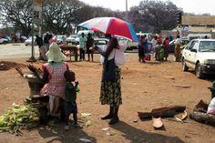 Street Corner in Harare