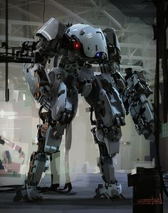 Captoon lee insu mech concept 01