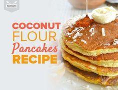 Full Gaps - Try these delicious Paleo Coconut Flour Pancakes - made completely grain free & gluten free. Enjoy these tasty Paleo pancakes with some maple syrup! Paleo Pancakes Coconut Flour, No Flour Pancakes, Coconut Flour Recipes, Almond Flour, Coconut Milk, Paleo Bread, Pumpkin Pancakes, Keto Pancakes, Fluffy Pancakes