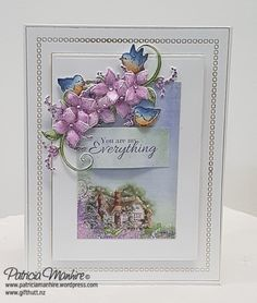 Kia Ora and Welcome Back This is my second post featuring the stunning Lush Lilac Collection from Heartfelt Creations. I love doing a wide range of cards and today I am featuring a clean and simpl…