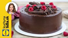 Čokoládová torta s ganache a malinami 🍫 Lidl, Easy Meals, Easy Recipes, Food And Drink, Pudding, Desserts, Youtube, Cakes, Easy Keto Recipes